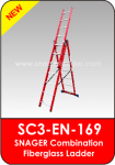 Snager Combination Fiberglass Ladder
