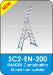 Snager Combination Aluminium Ladder