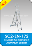 Snager Combination Aluminium Ladder