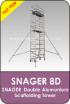 Snager Double Aluminium Scaffolding Tower