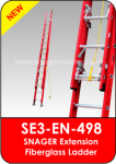 Snager Extension Fiberglass Ladder