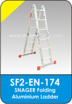 Snager Folding Aluminium Ladder