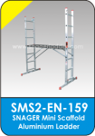 Snager Mini Scaffold Aluminium Ladder