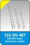 Snager Single Aluminium Ladder