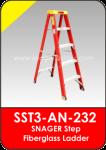 Snager Step Fiberglass Ladder