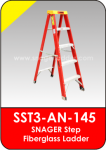Snager Step Fiberglass Ladder