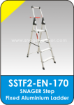 Snager Step Fixed Aluminium Ladder