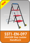 Snager Step Ladder Handtruck