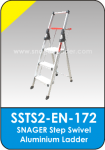Snager Step Swivel Aluminium Ladder